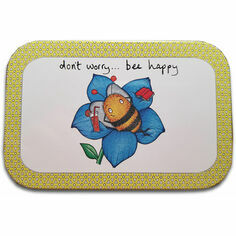 Don\'t Worry Bee Happy Peppermint Tin