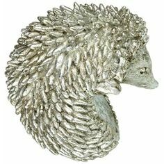 Platinum effect Hedgehog Pot Hanger
