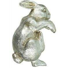 Platinum effect Rabbit Pot Hanger
