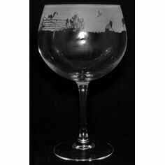 Animo Glass Woodland Scene Gin Balloon