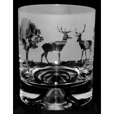 Animo Glass Woodland Whisky Tumbler