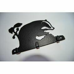 3 Hook Key Rack - Badger