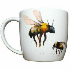 Meg Hawkins Bone China Bee Mug