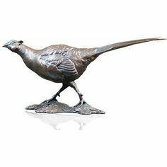 Limited Edition Pheasant Bronze Sculpture