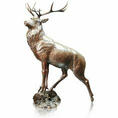 Limited Edition - Moorland Stag Bronze Sculpture
