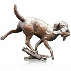 Limited Edition - Working Labrador Bronze Sculpture