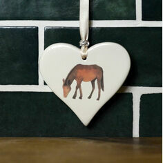 Horse Hanging Heart