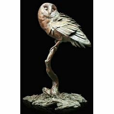 Limited Edition - Night Owl Bronze Sculpture