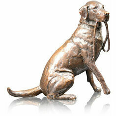 Limited Edition - Medium Labrador with Lead Bronze Sculpture