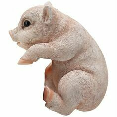 Pig Plant Pot Hanger - Large