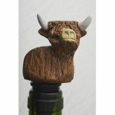 Highland Cow Bottle Stopper/Wine Saver