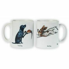 Good Dog, Bad Dog Mug by Bryn Parry