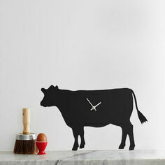 The Labrador Company Cow Wagging Tail Wall Clock