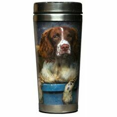 Country Matters Spaniels in Landy Thermal Mug