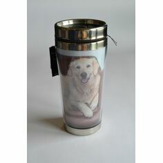 Country Matters Golden Retriever Thermal Mug