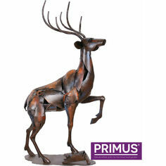 The Stag Metal Sculpture