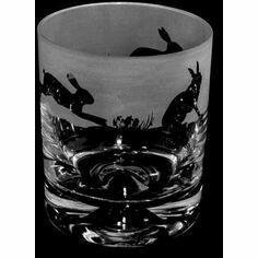 Animo Glass Hare Whisky Tumbler