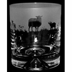 Animo Glass Sheep Whisky Tumbler