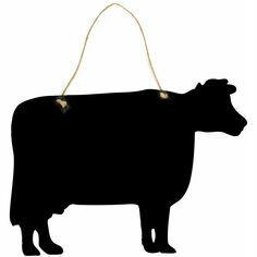 Cow Chalkboard