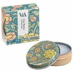 V&A Orchard Pear Lip Balm Tin