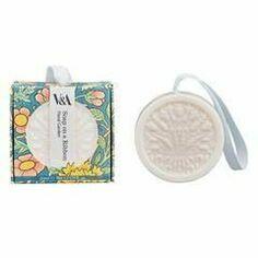 V&A Floral Garden Soap On A Ribbon