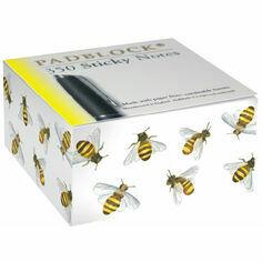 Honey Bee Design Sticky Message Pad