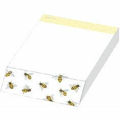 Honey Bee Design Slant Message Pad
