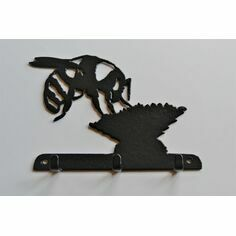 3 Hook Key Rack - Bee