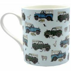Emma Lawrence Land Rover Mug