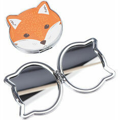Fox Face Compact Mirror