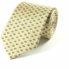 Fox & Chave Bryn Parry Bees Silk Tie