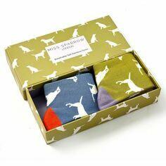 Ladies Labradors Socks Box