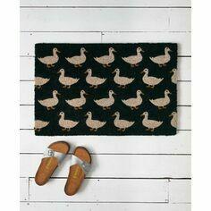 Waddling Ducks Coir Doormat
