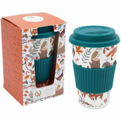 British Wildlife Bamboo Travel Mug