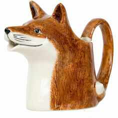 Quail Ceramics Fox Design Jug - Large