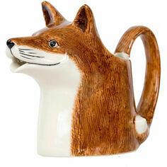 Quail Ceramics Fox Design Jug - Large