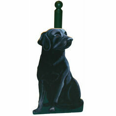 Black Labrador Kitchen Roll Holder