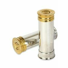 Culinary Concepts Silver Plated Cartridge Salt and Pepper Shakers