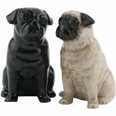 Quail Ceramics Pug Salt & Pepper Pots