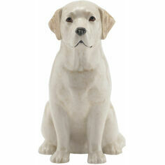 Quail Ceramics Golden Labrador Money Box