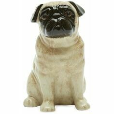 Fawn Pug Money Box