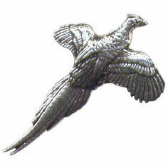 Pewter Lapel Pin in Presentation Box - Pheasant