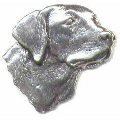 Pewter Lapel Pin in Presentation Box - Labrador