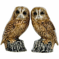Quail Ceramics Tawny Owl Salt & Pepper Shakers