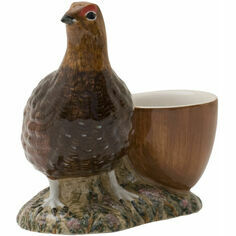 Quail Ceramics Red Grouse Egg Cup