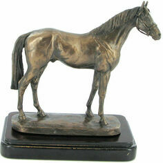 Epsom Dandy Cold Cast Bronze Sculpture