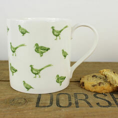 Lucy Green Game Birds Mug