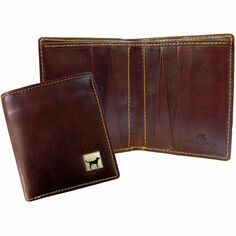 Tyler & Tyler Leather Jeans Wallet - Labrador