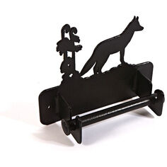 Wall mounted Fox Loo Roll holder