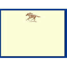 Sepia Notecards - Race Horse
